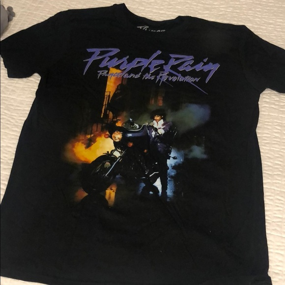 Prince Purple Rain t shirt